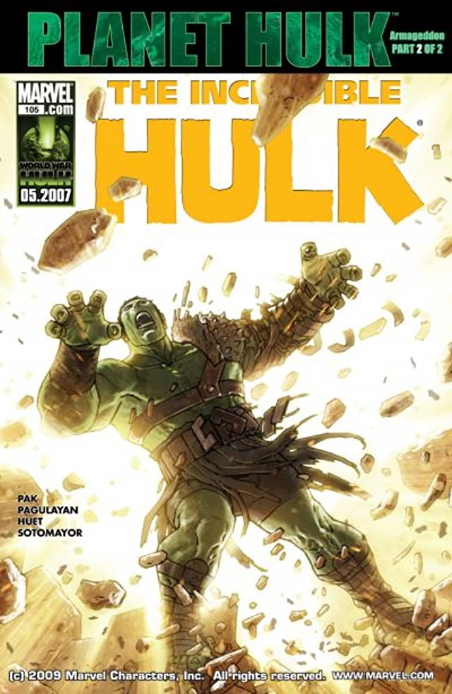Incredible Hulk (1999-2008) #105