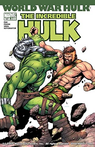 Incredible Hulk (1999-2008) #107