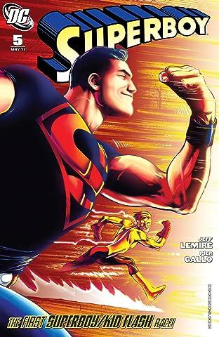 Superboy (2010-2011) #5