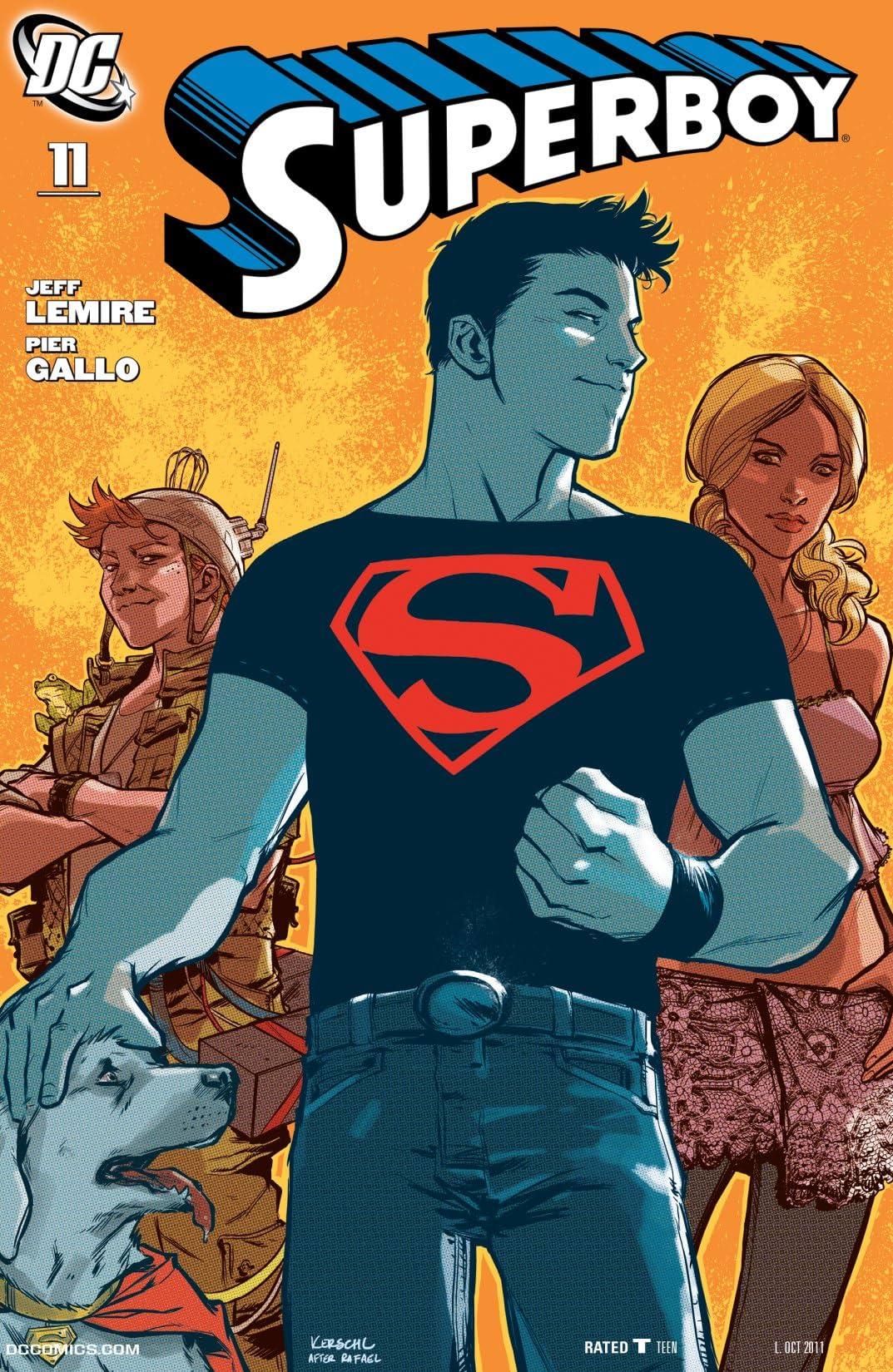 Superboy (2010-2011) #11