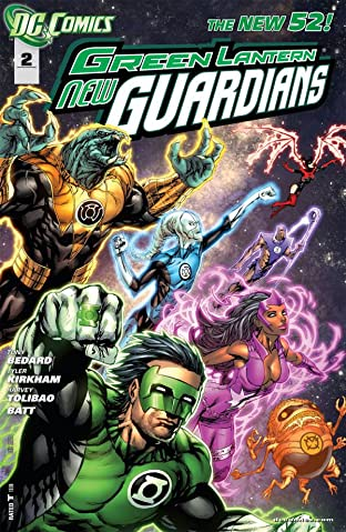 Green Lantern: New Guardians (2011-2015) No.2