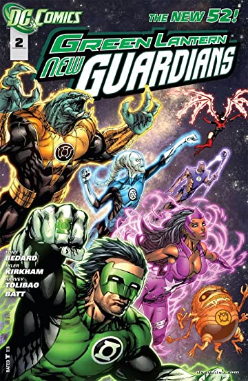 Green Lantern: New Guardians (2011-2015) #2