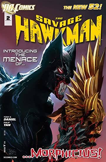 The Savage Hawkman (2011-2013) #2