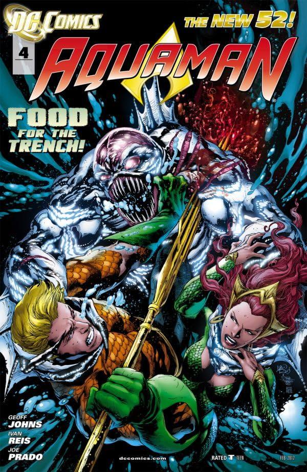Aquaman (2011-2016) #4