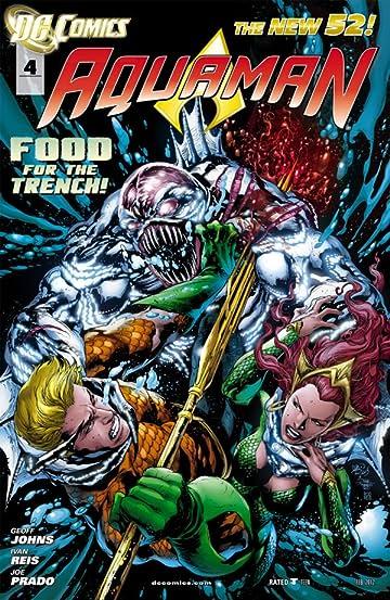 Aquaman (2011-) #4
