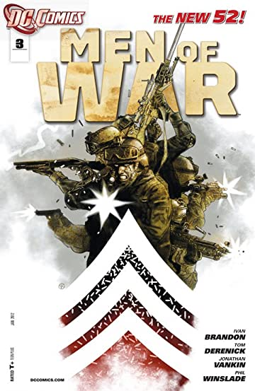 Men of War (2011-2012) No.3