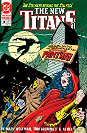 The New Titans (1984-1996) #74