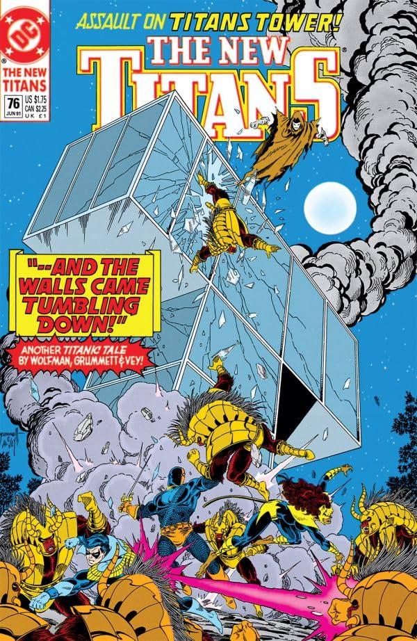 The New Titans (1984-1996) #76