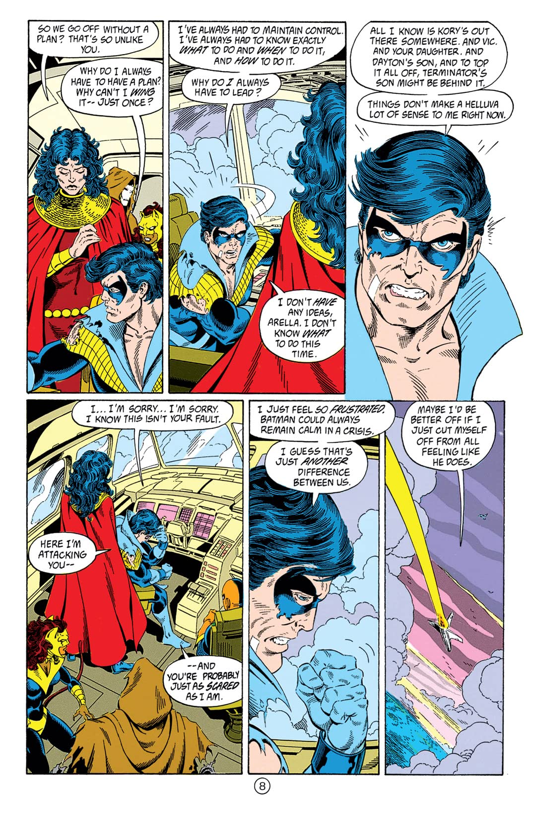 The New Titans (1984-1996) #77