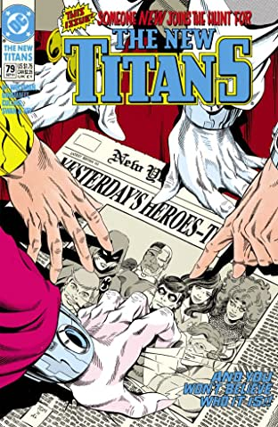 The New Titans (1984-1996) #79
