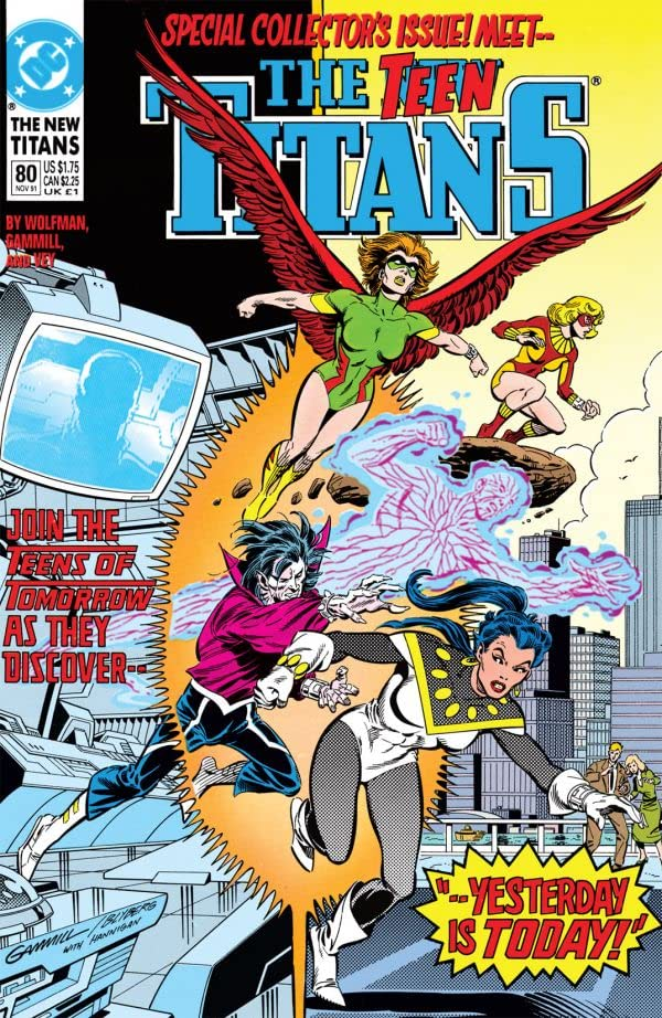 The New Titans (1984-1996) #80