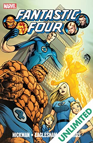 Fantastic Four By Jonathan Hickman Vol. 1