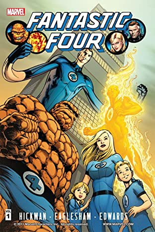 Fantastic Four By Jonathan Hickman Tome 1