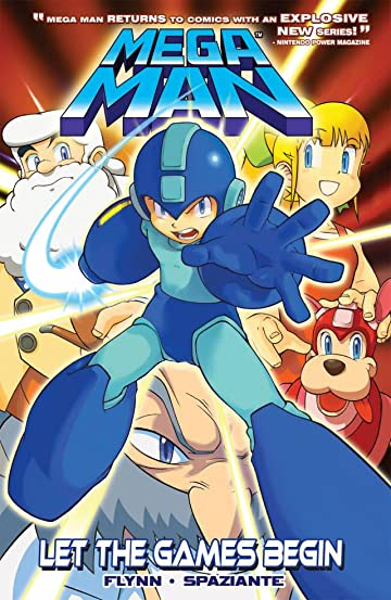 Mega Man Vol. 1: Let The Games Begin