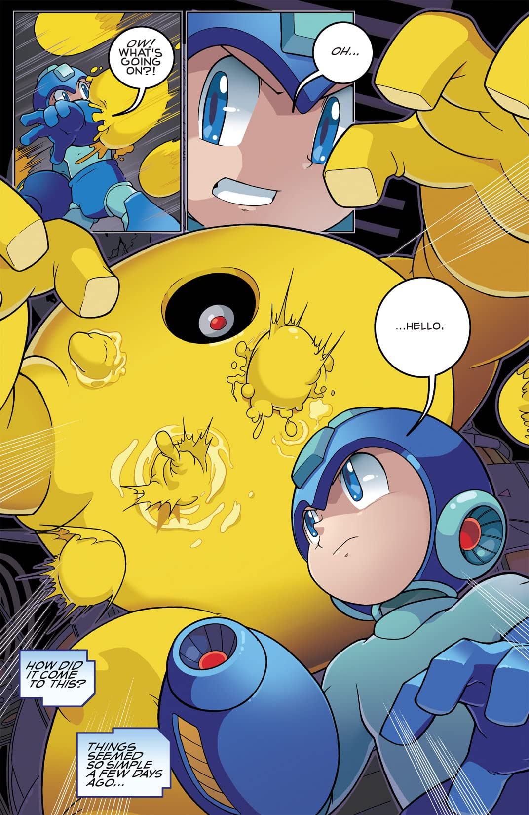 Mega Man Vol. 1: Let The Games Begin