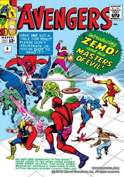 Avengers (1963-1996) No.6