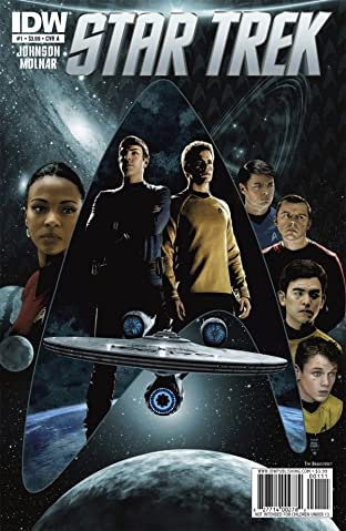 Star Trek (2011-2016) No.1