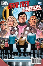 Star Trek/Legion of Super-Heroes #1 (of 6)