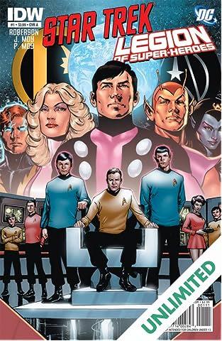 Star Trek/Legion of Super-Heroes #1 (of 6)