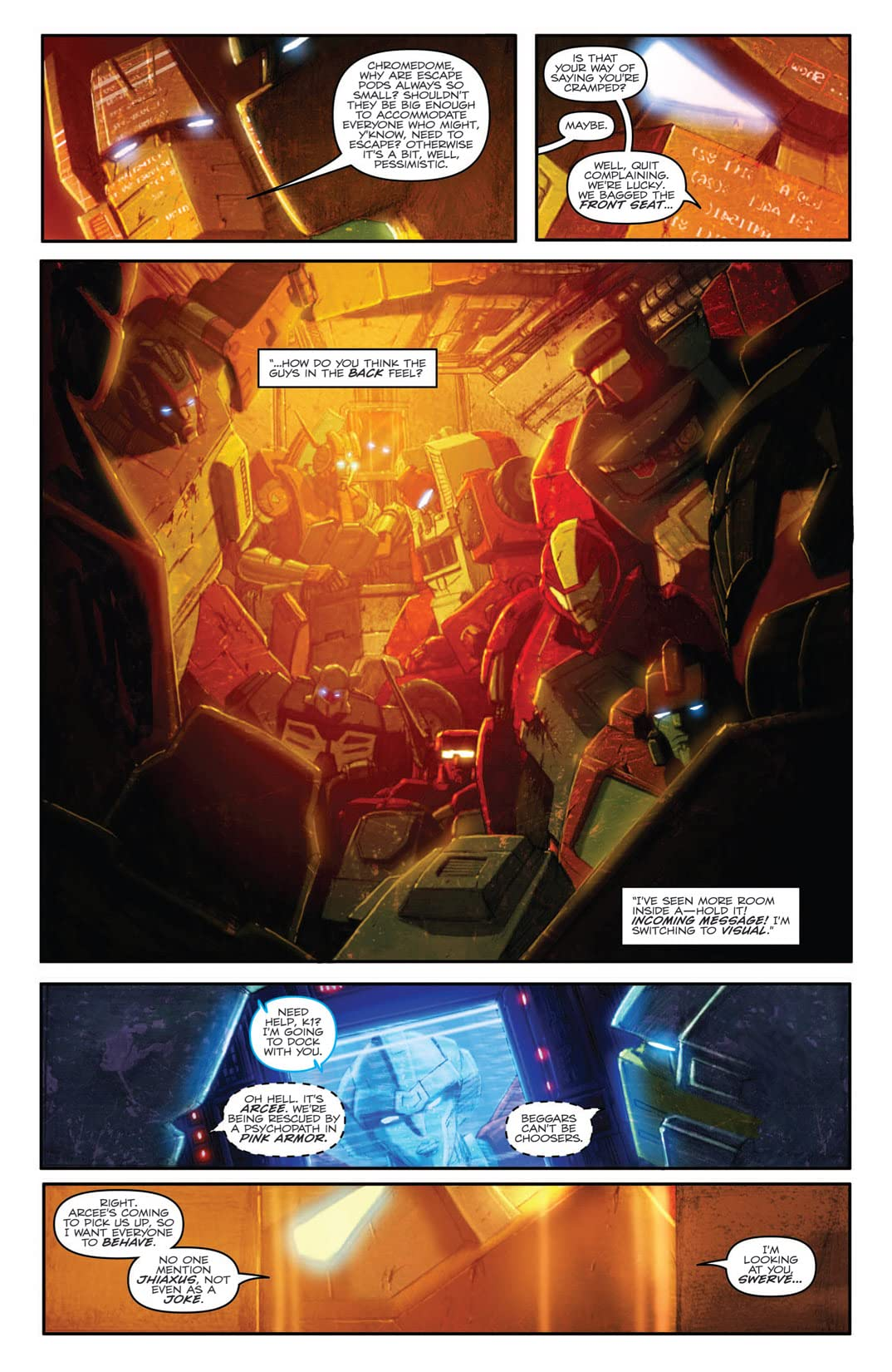 Transformers (2010-2011) #28