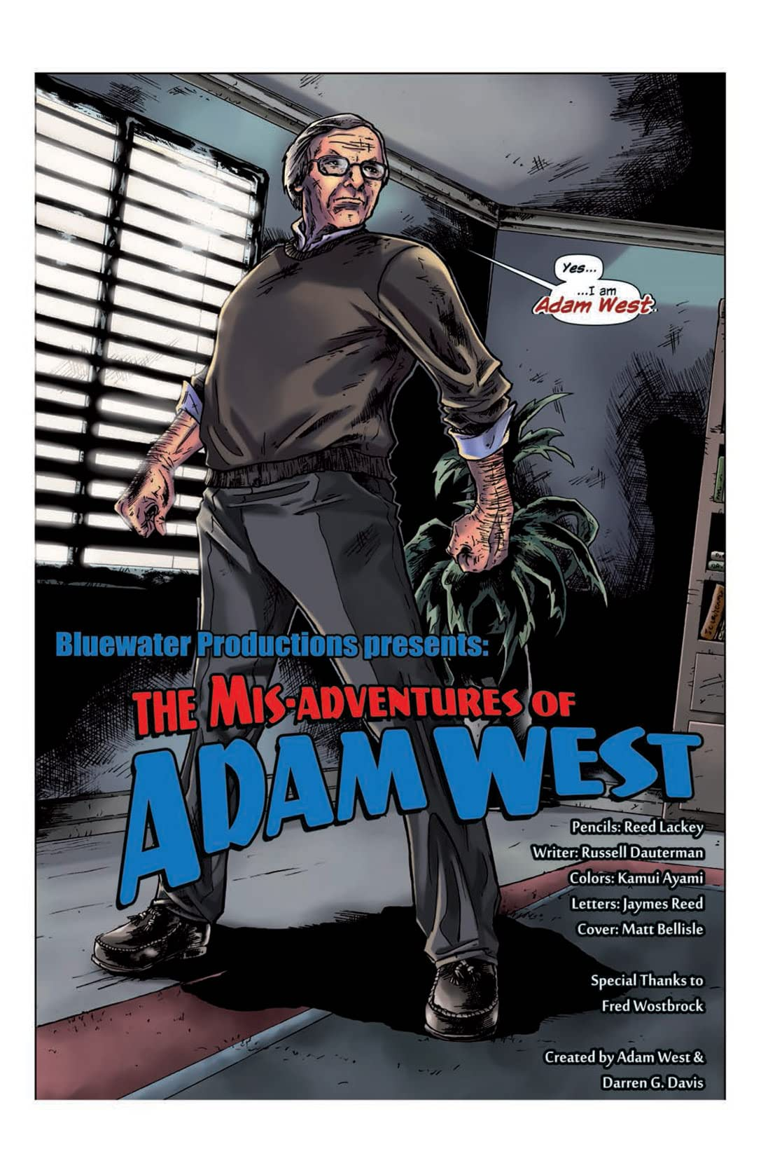 Misadventures of Adam West #1
