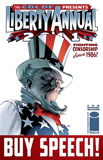 Comic Book Legal Defense Fund Liberty Annual 2011 #4