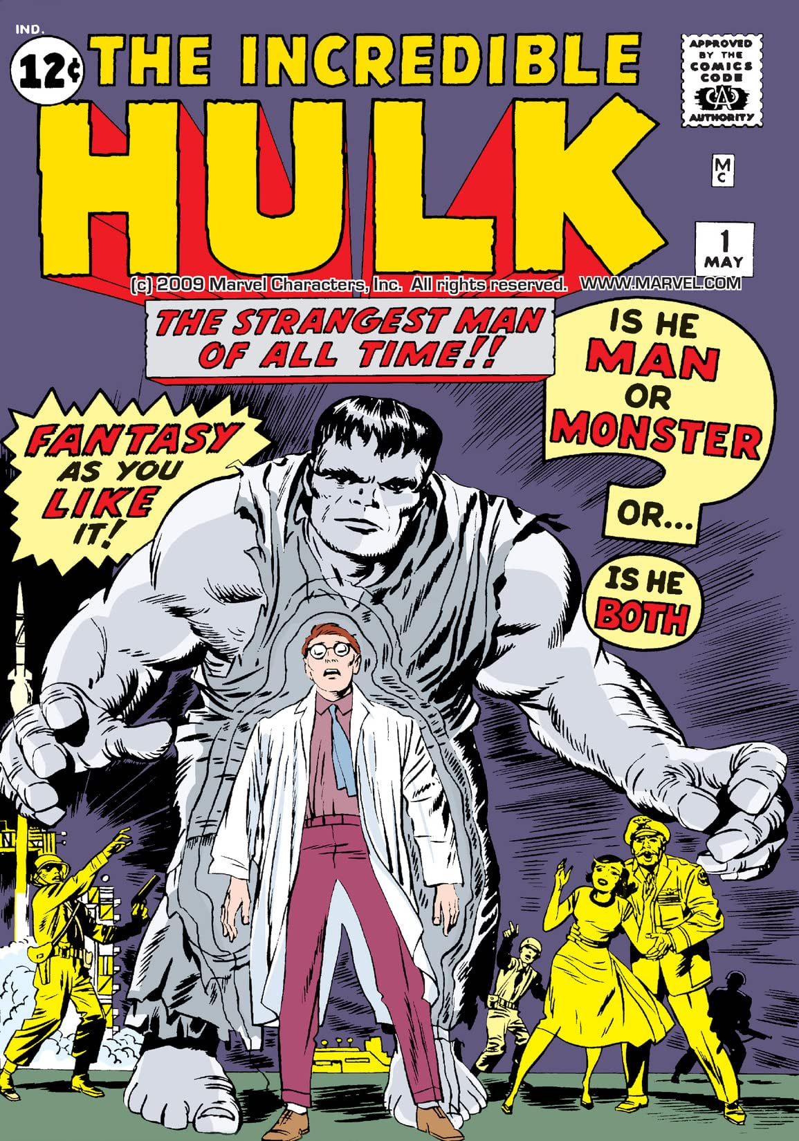 Incredible Hulk (1962-1999) #1