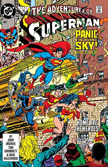 Adventures of Superman (1986-2006) #489