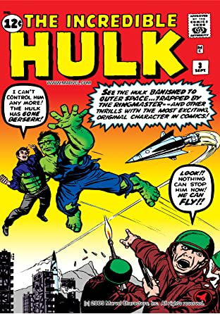 Incredible Hulk (1962-1999) No.3