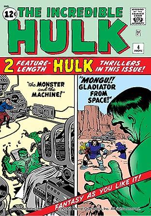 Incredible Hulk (1962-1999) No.4