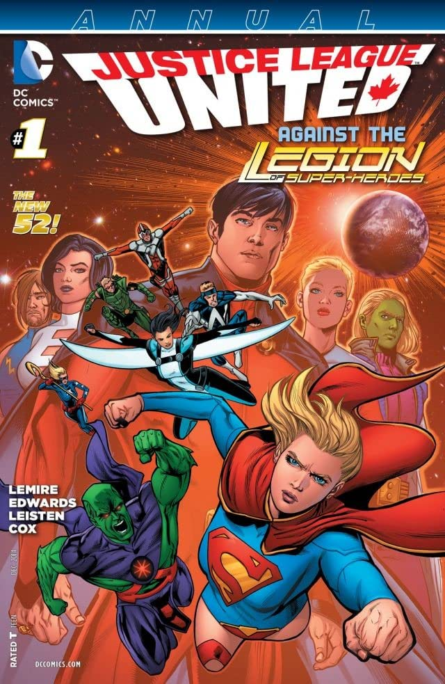 Justice League United (2014-2015): Annual #1