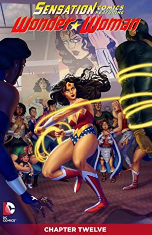 Sensation Comics Featuring Wonder Woman (2014-2015) #12