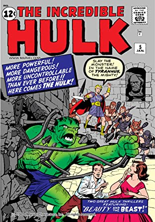 Incredible Hulk (1962-1999) No.5