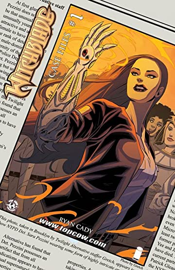 Witchblade Case Files #1
