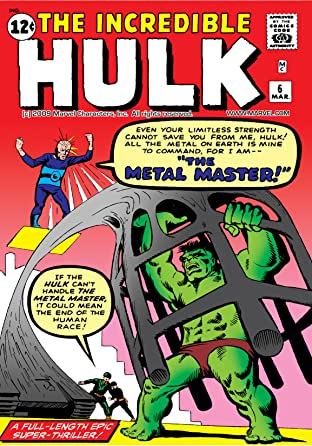 Incredible Hulk (1962-1999) No.6