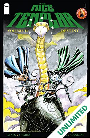 The Mice Templar: Destiny #1
