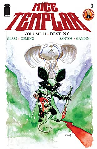 The Mice Templar: Destiny #3