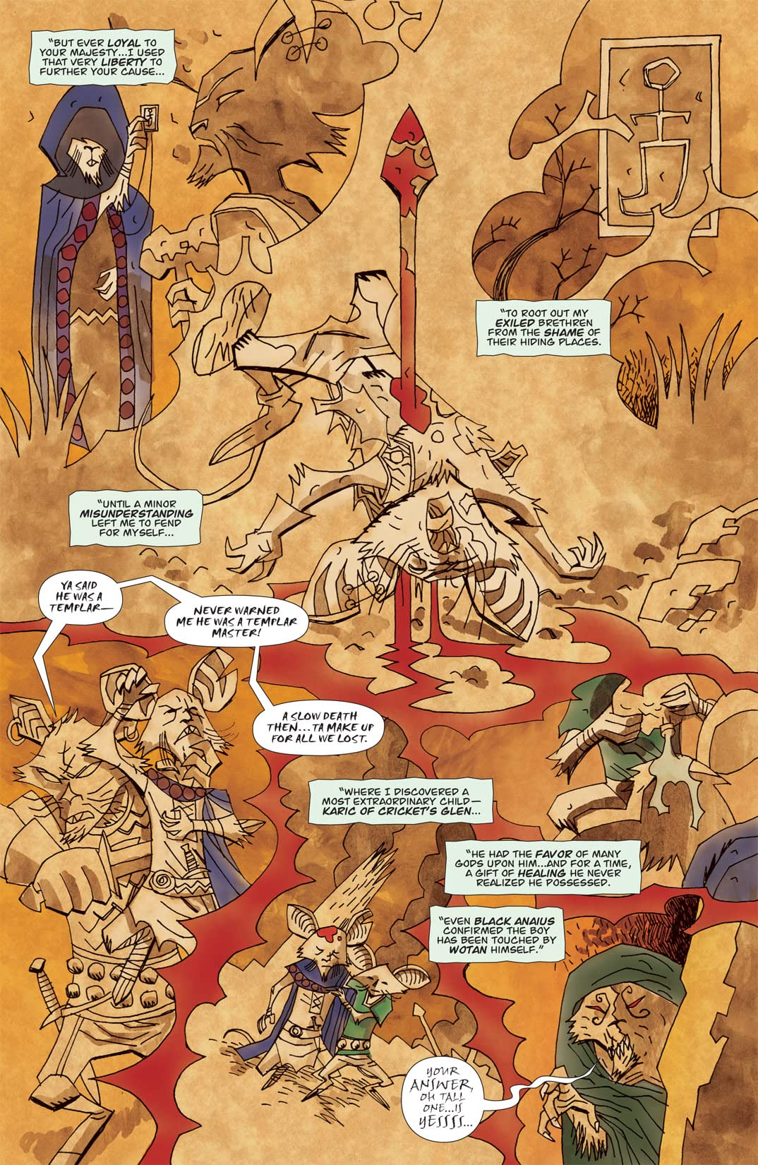 The Mice Templar: Destiny #8