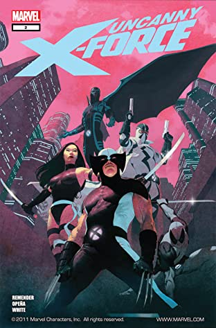 Uncanny X-Force (2010-2012) No.2