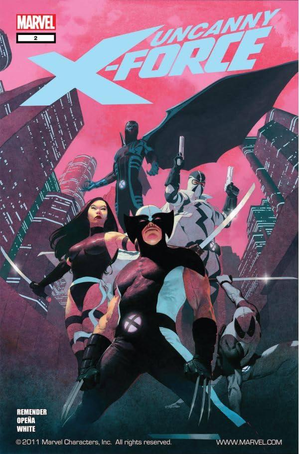 Uncanny X-Force (2010-2012) #2