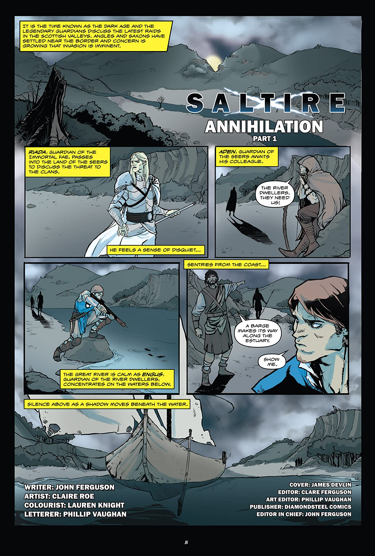 Saltire Vol. 3: Annihilation - Part One