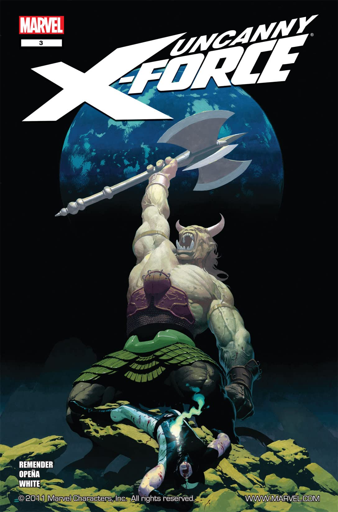 Uncanny X-Force (2010-2012) #3