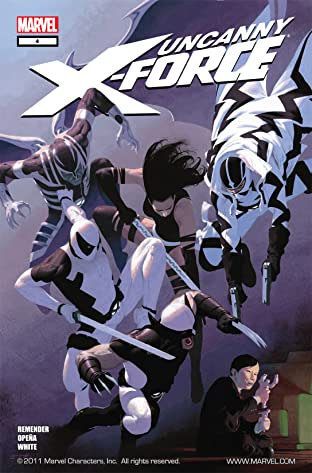 Uncanny X-Force (2010-2012) No.4