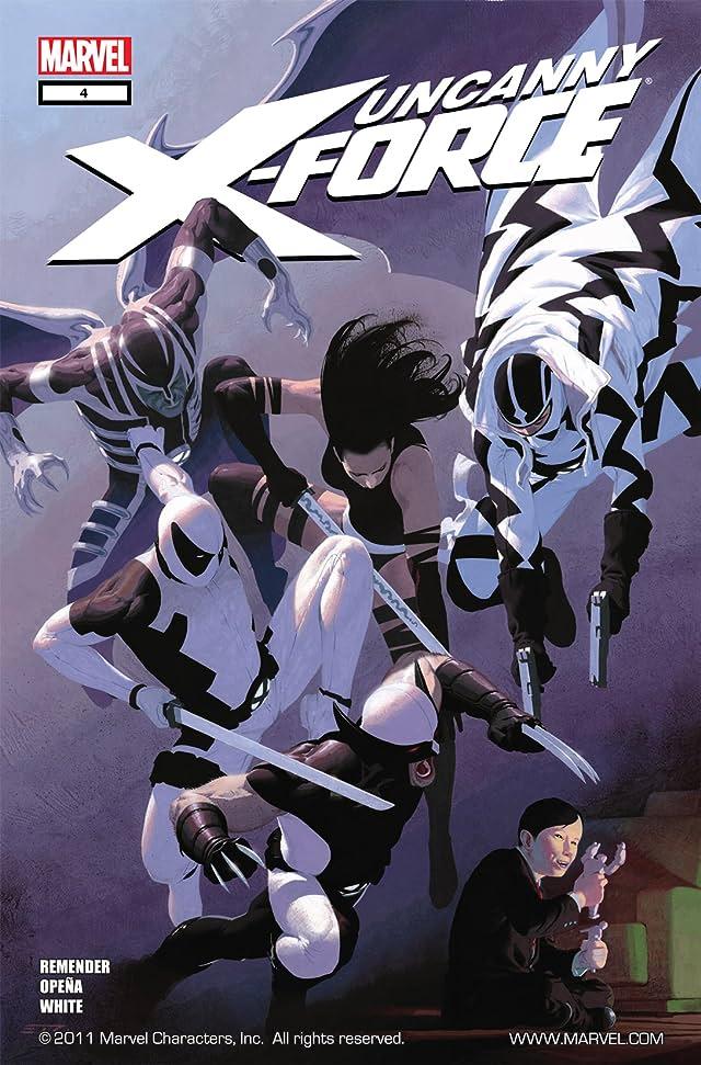 Uncanny X-Force (2010-2012) #4
