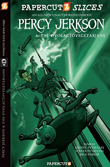 Papercutz Slices Vol. 3: Percy & Ovolactovegetarians