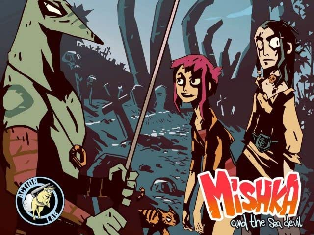 Mishka & the Sea Devil #7