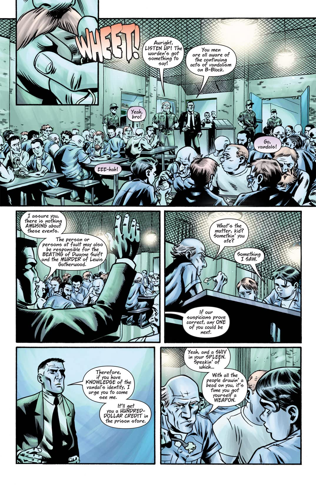 Hard Time (2004-2005) #5 (of 12)