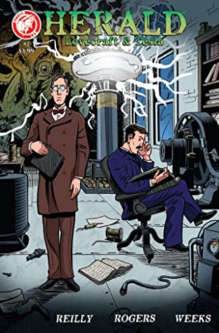 Herald: Lovecraft & Tesla #2