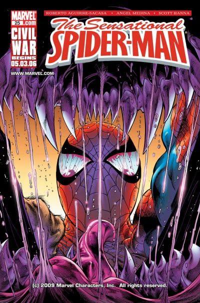 Sensational Spider-Man (2006-2007) #25