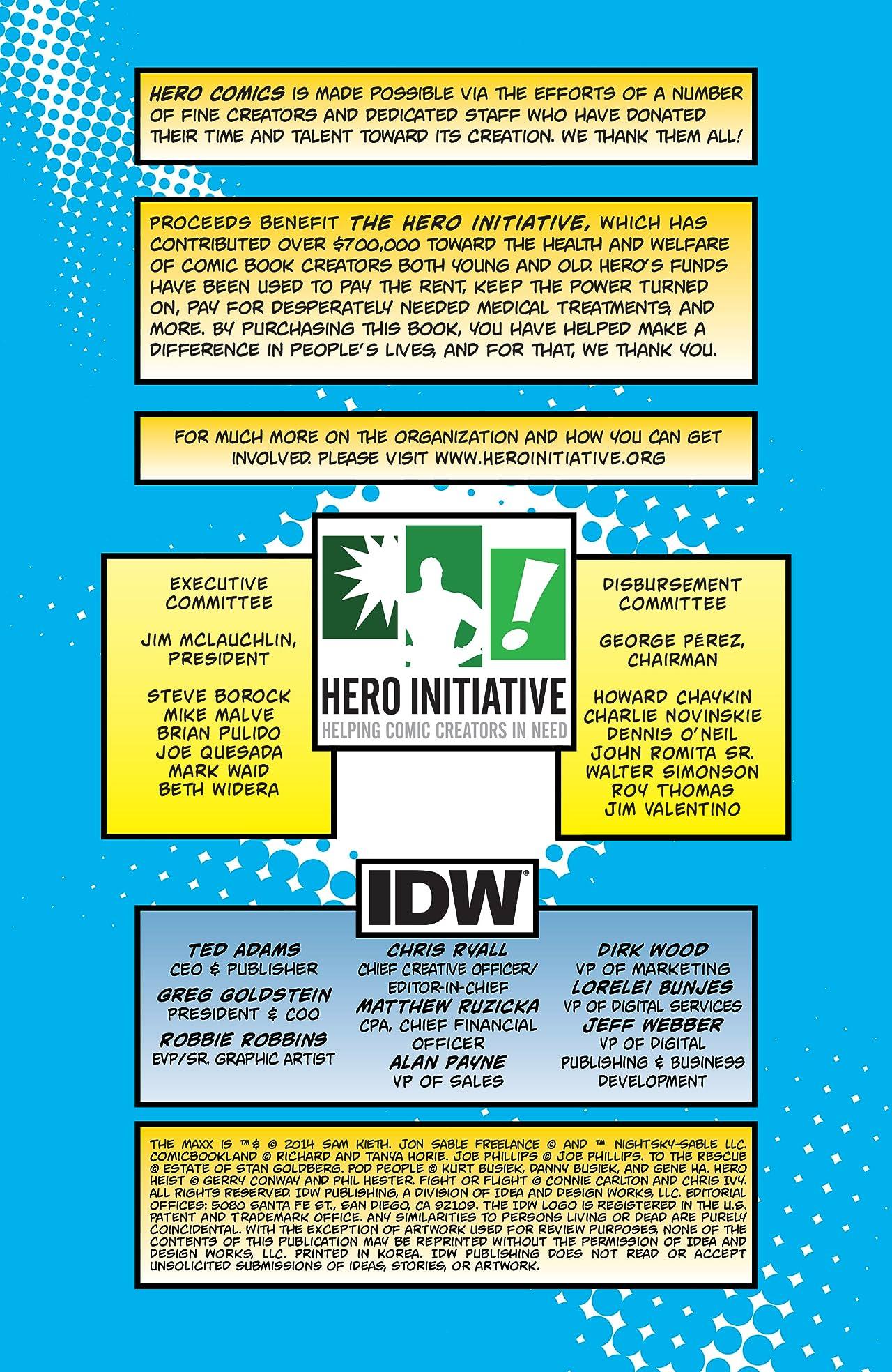Hero Comics 2014